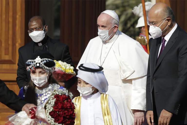 His Holiness Pope Francis Iraq Apostolic Visit